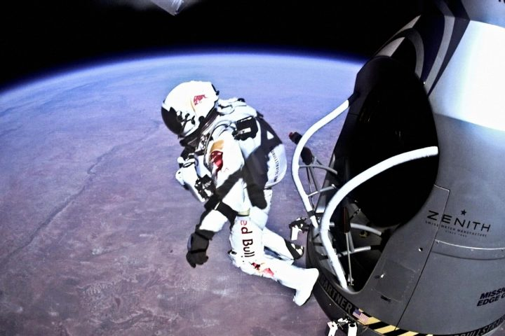 Skydiving from Space – World Record Breaking Jump